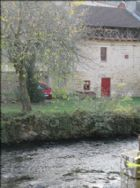 Property view from across the Vienne River