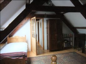 Cottage, view from bedroom to the landing.