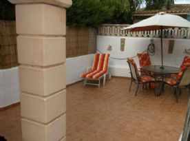 Patio area, private, all enclosed, room for a 3mtrx 2 mtr pool !