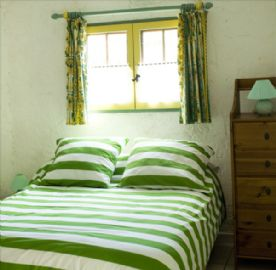 "Bedroom of ""Green"" gite"