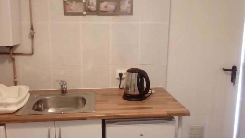 Downstairs kitchen This unit is separate from main house could be 4 holiday lets