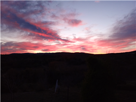 Spring sunset 2021