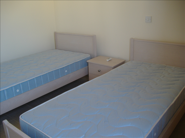 Twin Bedded Room with fitted wardrobes, beds included in sale