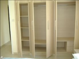 Fitted wardrobes to double bed room