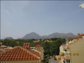 view from sun balcony