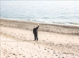 Beautiful, uncrowded sandy beach close to flat