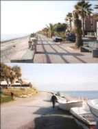 Seafront on Ionian Sea 500 metres from front door