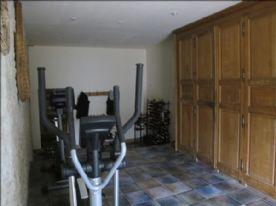 Fitness room, wine storage, etc