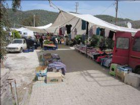 Bogazici Sunday market - before it gets busy !