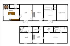 Floorplan of property.