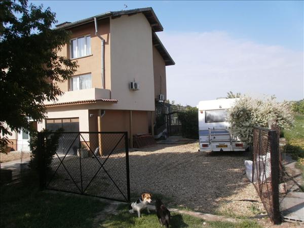 North side of Villa