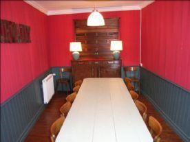 Panelled dining room - originally the village bar!
