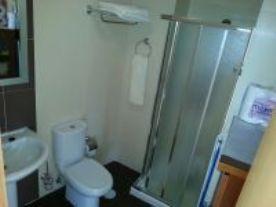 Bathroom with extractor fan