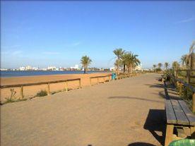 Promenade of Playa Paraiso Beach