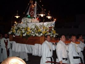 Easter procession in nearby Cabo de Palos