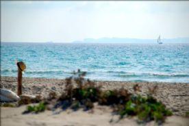 Cabrera island in distance