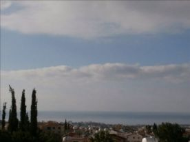 View from roof terrace over sea