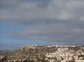 View from roof terrace over Pegia village