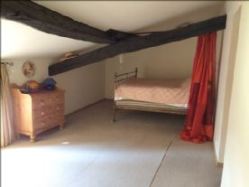 4th Bedroom. Window to garden on left not shown