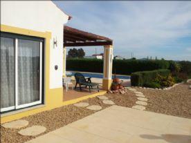 Side terrace Double patio doors