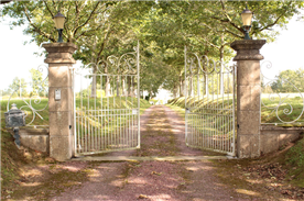 Front Gates opening