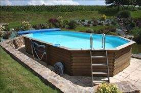 9x4.5 metre heated pool