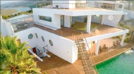Rear View; Decks & Pool Access