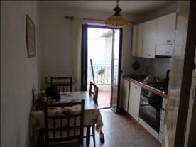 Kitchen leading to the terrace