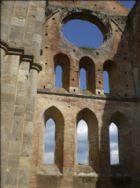 Nearby Abbey of San Galgano