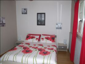 Bedroom 1 with king size bed