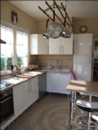 Kitchen left side with breakfast bar