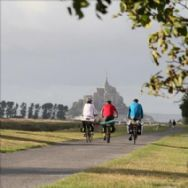 Walk or Cycle by Mont St Michel