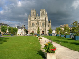 The nearby City of Avranches