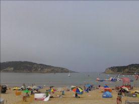 The beach at São Martinho do Porto