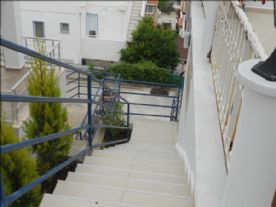 Stairs to the Apartment and Basement