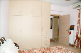 Upper level showing a typical wardrobe in Master Bed