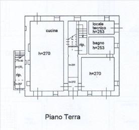 Floorplan groundfloor apartment