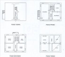 Floorplan house first/second floor