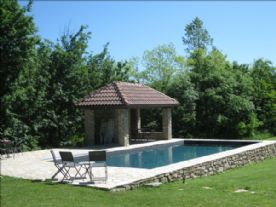 pool 12x5 with poolhouse