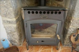 """Gaudin"" wood burning stove"