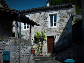 Barn conversion and cellar