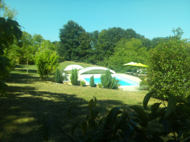 View of pool