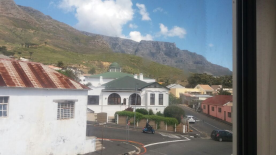 View to Table mountain from landing.