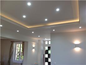 light box, wall lights