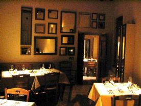 One of four dining rooms