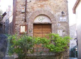 Balcony entrance to restaurant