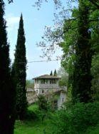 Garden view of belvedere
