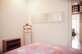Bedroom 1 with walk in closet