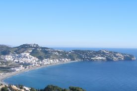 View of La Herradura Bay from the House
