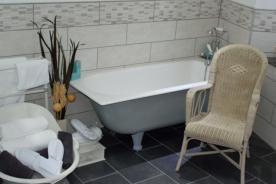 Ground Floor Bathroom with Bath & Shower - Ensuite to Ground Floor Bedroom